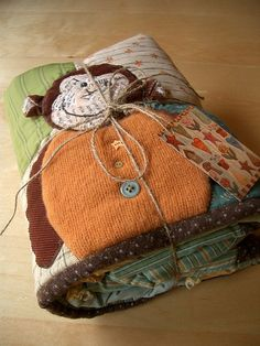 Bundled Monkey Quilt by PatchworkPottery, via Flickr
