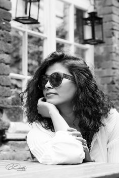 Mana #available light #plauen #vogtland #blackandwhite #dudla #model #pose #woman #beauty #sunglasses #blackhair