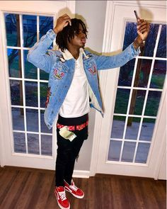 Mens Style Discover peep the vans Rapper Outfits Cute Swag Outfits Tomboy Outfits Dope Outfits Cute Black Guys Black Boys Teen Boy Fashion Men& Fashion Leather Men Rapper Outfits, Swag Outfits Men, Tomboy Outfits, Dope Outfits, Cute Black Guys, Black Boys, Urban Fashion, Men's Fashion, Teen Boy Fashion