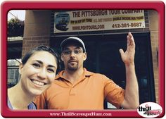 Thrill of the Hunt developed / administered to the ECHO Real Estate company outing, a scavenger hunt in Pittsburgh, PA 6/25/14 #ThrillofHunt