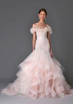 Featured Dress: Marchesa; Wedding dress idea.