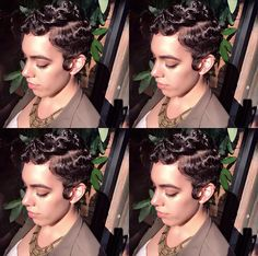 Betty Boop Hairstyle Waves Betty Boop Style Los Angeles California Short Hair Specialist