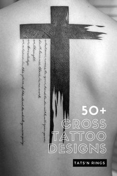 Amazing Collection of cross tattoo designs for both men and women. Here we will discuss the background of cross tattoos including the kinds of crosses and the preferences of men and women on their body placement Cross Rib Tattoos, Tribal Tattoos, Cross Shoulder Tattoos, Cross Tattoo For Men, Cross Tattoo Designs, Tattoos Skull, Tattoo Designs Men, Sleeve Tattoos, Clown Tattoo
