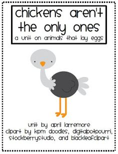 Oviparous Animals Poem - Great lesson idea on this website that ...
