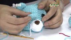 Amigurumi cat (kitten) Part head Crochet Turtle, Crochet Dinosaur, Crochet Bunny, Crochet Baby Hats, Crochet Animals, Crochet Dolls, Diy Crafts Crochet, Crochet Home, Free Crochet
