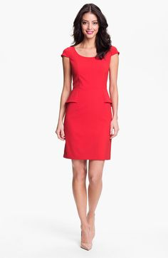 Marc New York by Andrew Marc Peplum Sheath Dress available at Nordstrom
