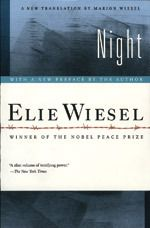 Challenge 2: A Memoir / Night - Elie Wiesel / Night tells about Wiesel's experience with his father in the Nazi concentration camps at Auschwitz and Buchenwald at the height of the Holocaust and toward the end of the Second World War. In just over 100 pages, Wiesel writes about the death of God and his own increasing disgust with humanity, reflected in the inversion of the father–child relationship as his father declines to a helpless state and Wiesel becomes his resentful teenage caregiver.