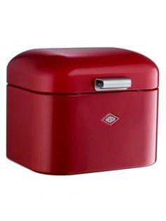Wesco Super Grandy Breadbin / Storage Box- Ruby Red - Bread / Storage Bins - Kitchen - By Room | Homeware Boutique
