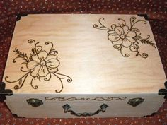 keepsake box. $45 on etsy. names and dates can be added.