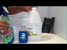 Hacer limpiador multiusos casero - Productos de limpieza - YouTube