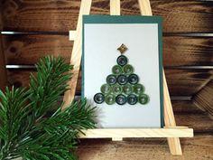 Die besondere Weihnachtskarte / Quilling / von PaperArtSabine