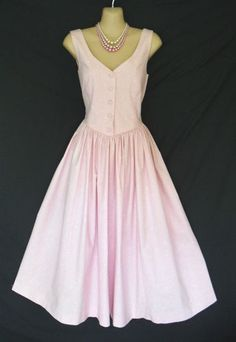 VINTAGE LAURA ASHLEY PINK PRINCESS 50S STYLE PARTY DRESS JACKET 10 | eBay