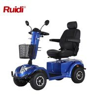 [Outdoor Sports] Ruidi Mobility scooter R6-S 4 wheel scooter power wheel chair balance scooter