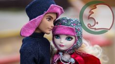 Как сделать шапку-ушанку для кукол. How to make ushanka (fur-hat) for a ...