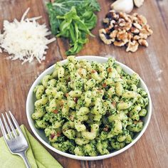 There is so much folate in this pesto, you'll make a pound of serotonin before         bedtime, which means a night of great sleep and a smile in the…