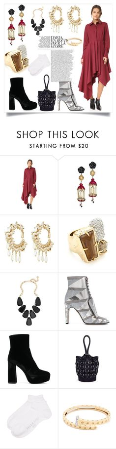 """""""Fashion for all"""" by jennifer-lawrence-143 ❤ liked on Polyvore featuring Petersyn, Of Rare Origin, Rosantica, Alexis Bittar, Kendra Scott, Sergio Rossi, Prada, Alexander Wang, Falke and Roberto Coin"""