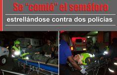 El pasado fin de semana (sábado) siendo las 9:30 de la noche los patrulleros de la Policía Nacional, Mairon Alonso Vega e Iván Andrés Jiménez, resultaron heridos.[http://www.proclamadelcauca.com/2014/09/se-comio-el-semaforo-estrellandose-contra-dos-policias-los-tres-resultaron-heridos.html]