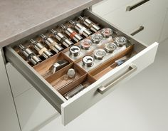Kitchen+drawer+insert+for+spices