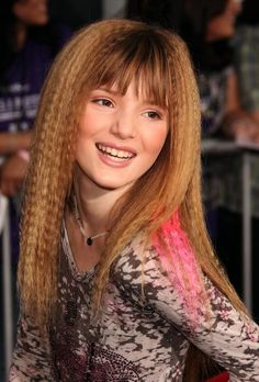 Bella Thorne so young