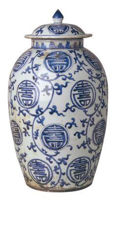 """""""Blue and White Porcelain"""" By InStyle-Decor.com Hollywood"""