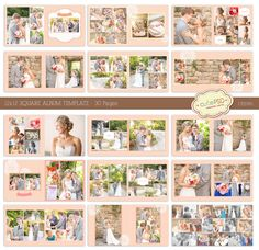 instant download 12x12 square wedding album template 30 by cutepsd 2000