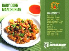 Quick Bite!            Baby corn manchurian- Yet another easy cooking recipe which saves your time, spicy & crunchy! Here we go, Baby Corn Manchurian's Tasty recipe for you.  #srijanakiram #tirunelveli #quickbite #babycornmanchurian