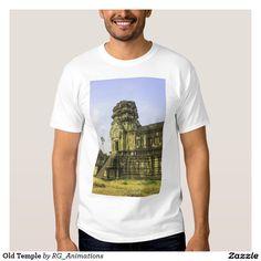Old Temple Tee Shirt