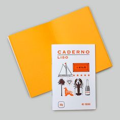 Caderno liso von Serrote