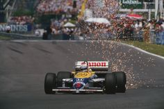 Nigel Mansell - Williams FW11 - 1986 Circuit Gilles Villeneuve ...