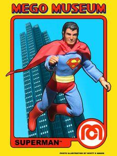 Superman - Mego