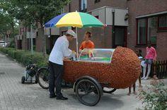 Buurtkroket (2007) van Tilmann Meyer-Faje in Stedenwijk Noord, Almere. © Katja van Driel
