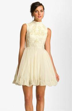 Saccharine lace dress