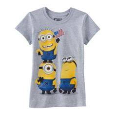 Despicable Me Patriotic Minion Tee - Girls 7-16