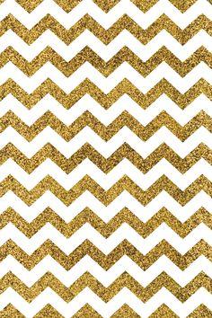 Gold Glitter Chevron Iphone Wallpaper Rose Background