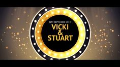 Vicki and Stuart's 'Glee' Music Wedding Video