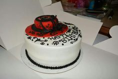 Church hat b'day cake
