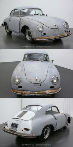 1959 Porsche 356 Coupe [Restoration project] Beverly Hills Cars, Porsche 356a, Red Interiors, Manual Transmission, Cars For Sale, Restoration, Projects, Log Projects, Blue Prints