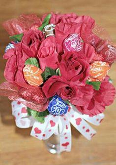 Sweet bouquet of lolly pops.