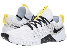 42a81ea3f84 Nike Metcon Free JDQ Men s Cross Training Shoes White Black Dynamic Yellow  On Shoes