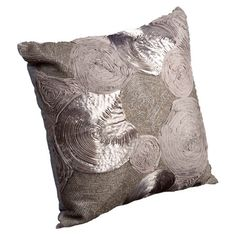 "Raina Pillow from the Textured Details event at Joss and Main!  100% Cotton, 18""x18"", Imported from India  Retail $239. This Event $70."