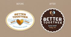 Before & After: Better Together — The Dieline - Branding & Packaging