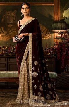 Sabyasachi Sarees, Lehenga Choli, Silk Sarees, Pakistani Dresses, Indian Dresses, Indian Sarees, Indian Wedding Outfits, Indian Outfits, Indian Wedding Sari