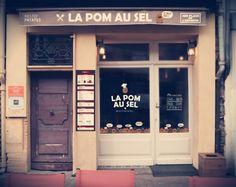 #Logo #Devanture #Graphicdesign  Client : La Pom au sel - #restaurant  Agence : Birds communication