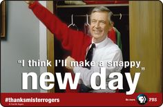 Favorite person Ive ever seen on tv.ever. Love mr. Rogers!!