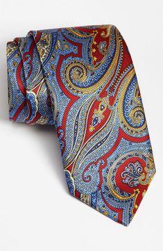 Robert Talbott Woven Silk Tie