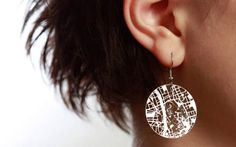 animalstudio.com - Very cool jewelry laser cut featuring city street maps.