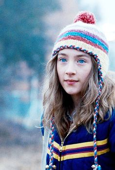 Saoirse Ronan - The lovely Bones The Lovely Bones Movie, To The Bone Movie, Charlie Chaplin, Susie Salmon, Funky Hats, 14 Year Old Girl, Sad Movies, Costume, Movies And Tv Shows