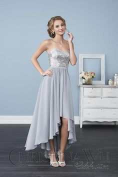 hi low styles available at Spotlight Formal Wear!