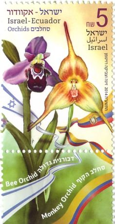 Orchids  Israel-Ecudaor Joint Issue