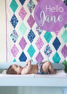 I'm so excited to finally share with you my other baby! Hello Jane for Windham Fabrics.  This is my fifth fabric line…and I still get incredibly nervous to show it off for the first time! I'm in lo